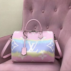 Louis Vuitton escale speedy 30 pink
